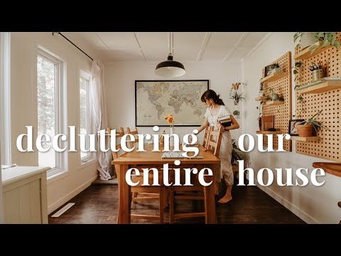 DECLUTTER & CLEAN WITH ME