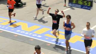 Fantastic Marathon finishes and the agony of the feet