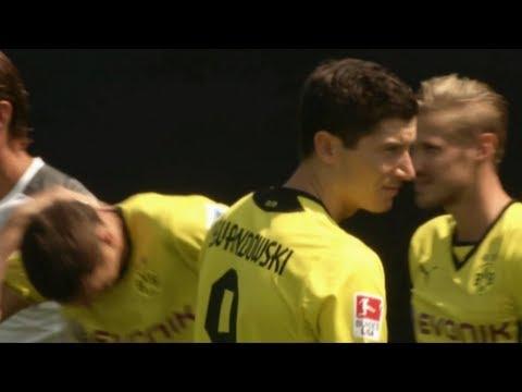 """Rummenigge verspottet Dortmund: \""""Nicht Wasser predigen und Wein saufen!\""""   Lewandowski kommt 2014"""