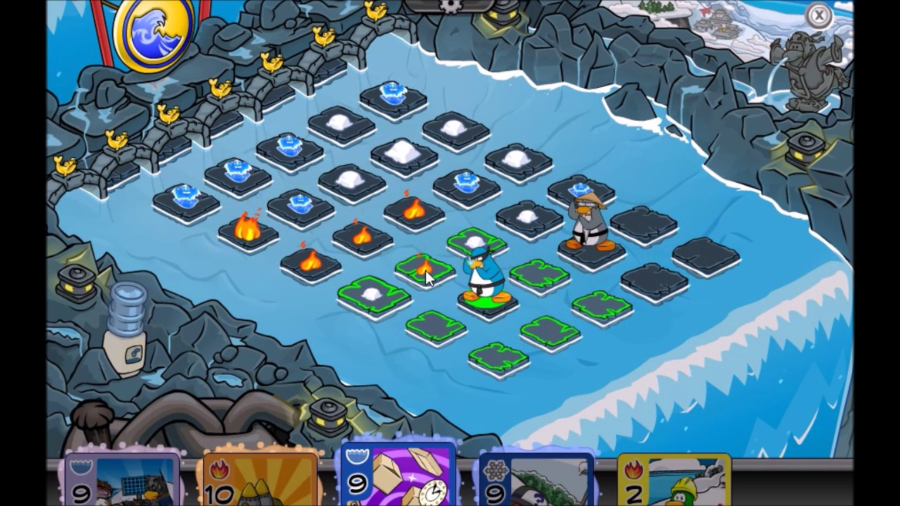 Card Jitsu Water arena