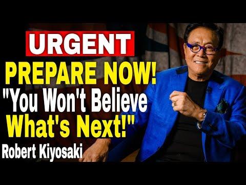 Robert Kiyosaki: Market CRASH! How To Get Rich + Buy BITCOIN, GOLD \u0026 Silver || Rich Dad Poor Dad