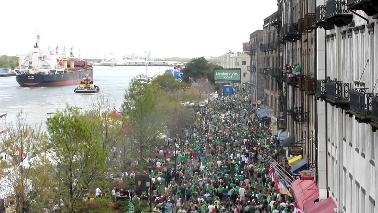 Image result for st patrick's day savannah ga