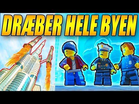 DRÆBER HELE BYEN MED MISSIL - LEGO CITY UNDERCOVER - [#17]