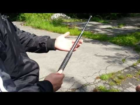 "ESP 21"" Telescoping Baton Hard Test"