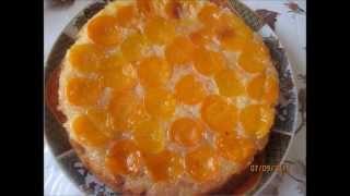 Recette Tarte à L'abricot, Gâteau Aux Abricots, Cake With Apricots مقلوبة المشمش، كيك المشمش،
