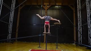 Fihizkhá/ Tríptico Nyia (2018). Compañía dospuntos circo. Residencia Cirko Vertigo (Italia)