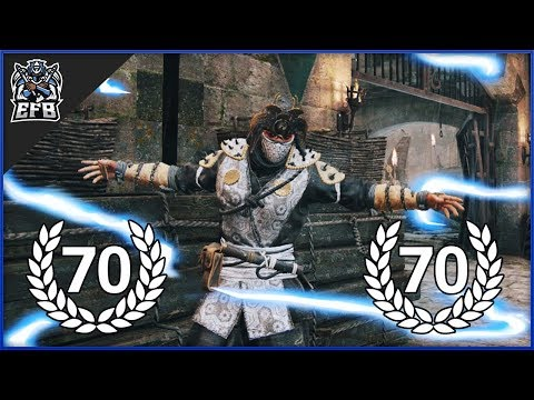 For Honor - REPUTATION 70 SHINOBI DUELS!
