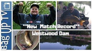 *New Match Record* Westwood Dam Monday Night Open Match - Match Fishing - BagUpTV