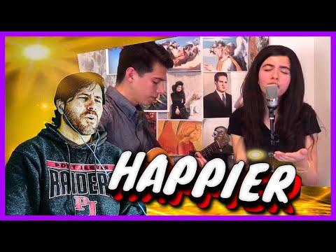 REACTION   Angelina Jordan - Marshmello ft. Bastille - Happier (Cover)