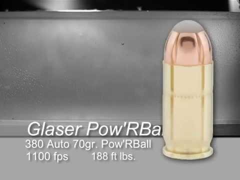 COR®BON Pow'RBall 380 ACP 70gr SlowMo