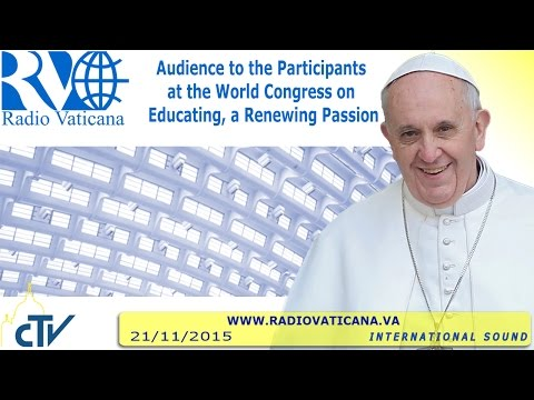 Audience to the Participants at the World Congress on Educating, a Renewing Passion 2015.11.21