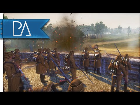 WW1 OTTOMAN DEFENSE - The Great War Total War Mod Gameplay