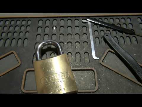 Взлом отмычками ABUS   (116) Another Master Keyed Corbin Russwin Kik Picked & Gutted ()