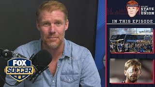 Boca/River violence, USMNT/USWNT, UCL | EPISODE 42 | ALEXI LALAS' STATE OF THE UNION PODCAST