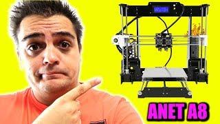 LA ANET A8 ¿MERECE LA PENA COMO IMPRESORA 3D?