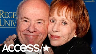 Carol Burnett Says She's 'Heartbroken' Over Former Co-Star Tim Conway's Death
