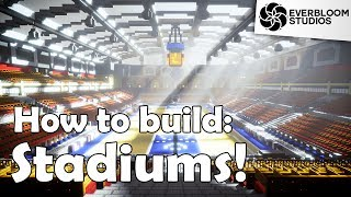 How to Build: STADIUMS in Minecraft!