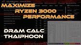 How To Use The Ryzen DRAM Calculator - YouTube