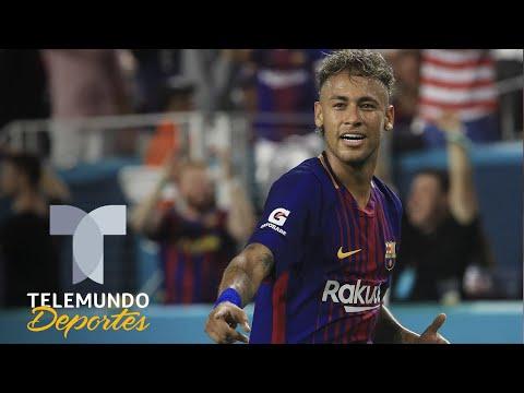 ¡Ya hay acuerdo entre Neymar y el Barcelona! | Telemundo Deportes