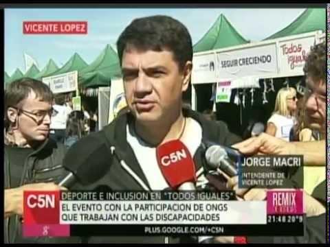 C5N -  DEPORTE E INCLUSION: TODOS IGUALES EN VICENTE LOPEZ