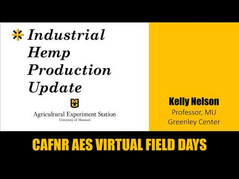 Industrial Hemp Production Update – Kelly Nelson