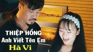 Quang Lập cũng phải bất ngờ trước tiếng hát bé Hà Vi - Thiệp hồng anh viết tên em