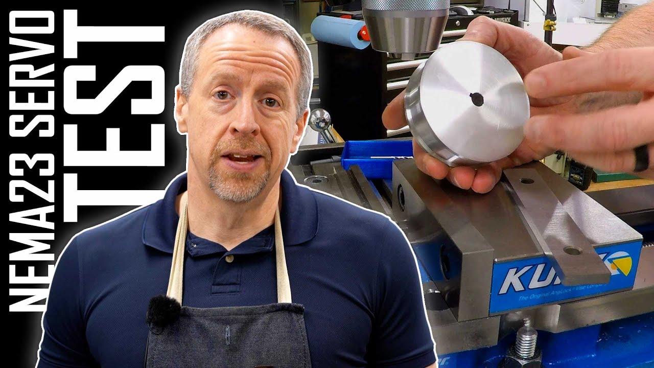 Testing NEMA23 Servos - Making Torque Spools | ELS Part 23