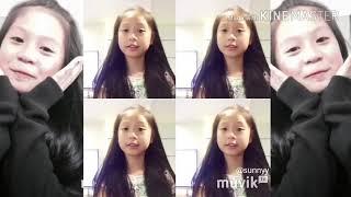 Đọ mặt mộc giữa Thiên Thư,Meo Xinh vs Sam Xinh
