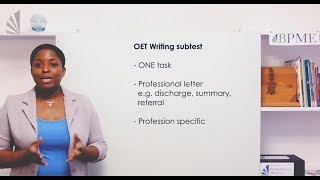Straight Talk: Getting through OET Writing