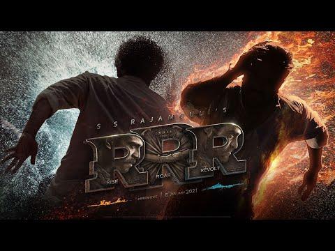 RRR Motion Poster - NTR, Ram Charan, Ajay Devgn, Alia Bhatt, Olivia Morris