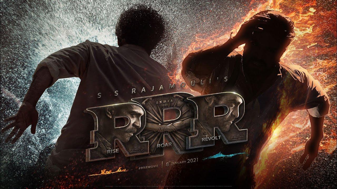 RRR Motion Poster - NTR, Ram Charan, Ajay Devgn, Alia Bhatt, Olivia Morris | SS Rajamouli