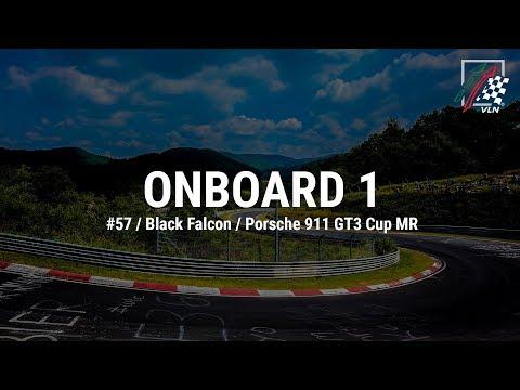 Onboard 1: #57 / Black Falcon / Porsche 911 GT3 Cup MR