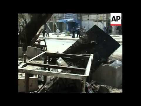 Iraq - Chalabi Bomb Attack / Police Chief Bomb / Pilgrim Bombs