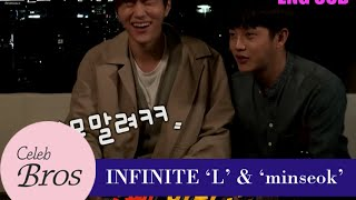 "Baixar INFINITE L & Minseok, Celeb Bros S6 EP5 ""Painting the town red"""