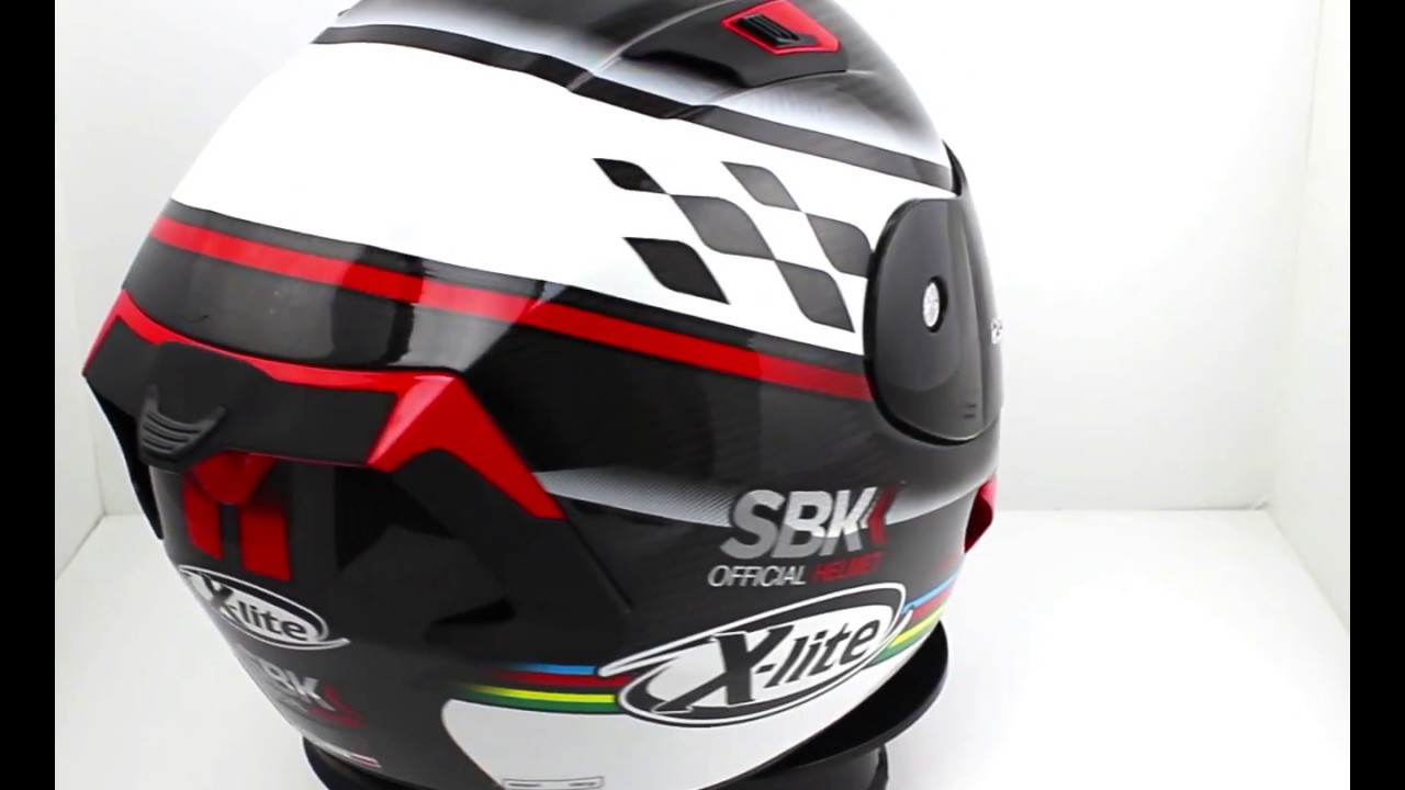 x lite x 803 ultra carbon sbk helmet youtube. Black Bedroom Furniture Sets. Home Design Ideas
