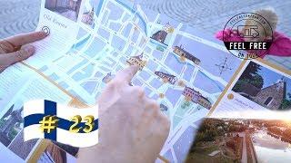UNESCO-Weltkulturerbe: OLD RAUMA & frei stehen am Hafen - Finnland Womo Rundreise #23