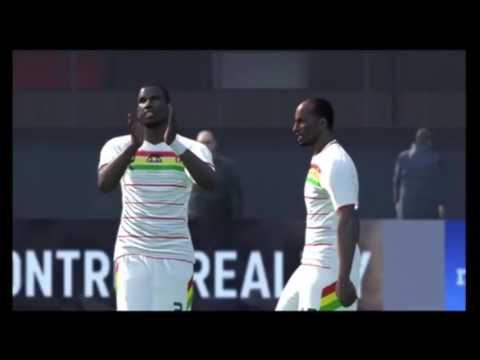 Guinea VS Costarica  World cup 2022 Group match 1-PES 2017 BAL N'Sakala