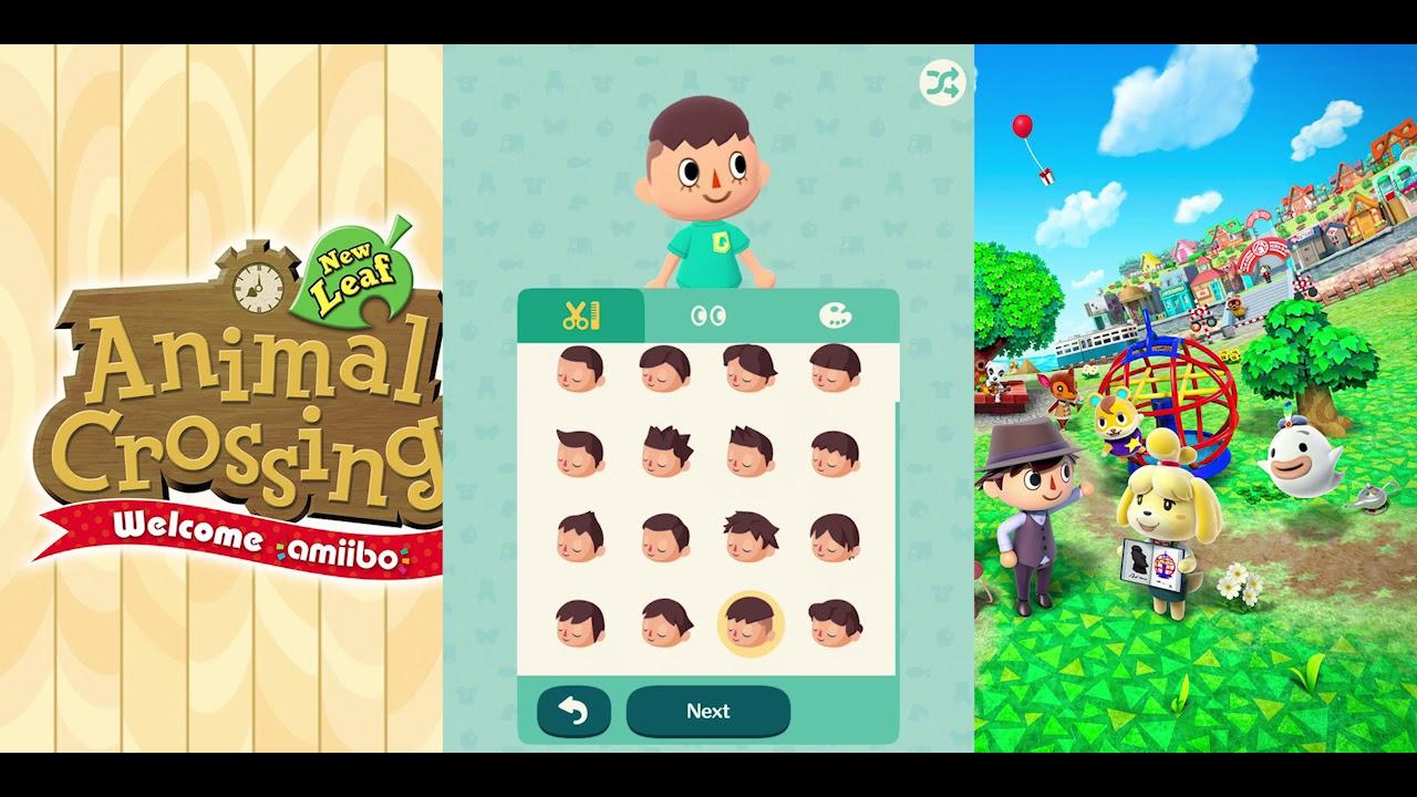 Hair In Animal Crossing - Wavy Haircut