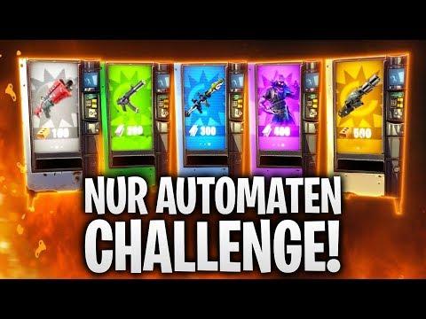 NUR AUTOMATEN CHALLENGE! 🔥🎰 | Fortnite: Battle Royale