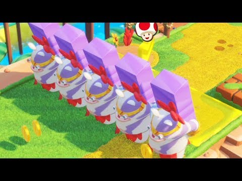 Mario + Rabbids Kingdom Battle - Walkthrough Part 41 - World 1 Challenges 1-10
