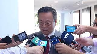 Presidente Xi Jinping invitó a Lacalle Pou a visitar China en 2020