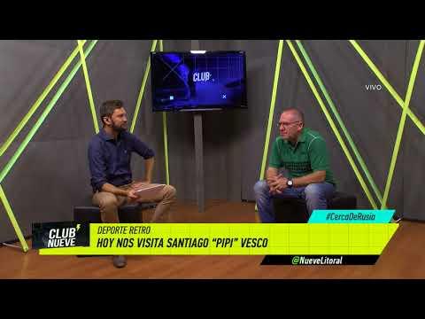 Club Nueve | Retro con Santiago