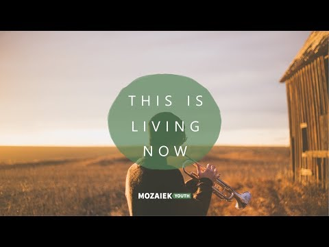 Youth Worship Preek: This is living now - David De Vos