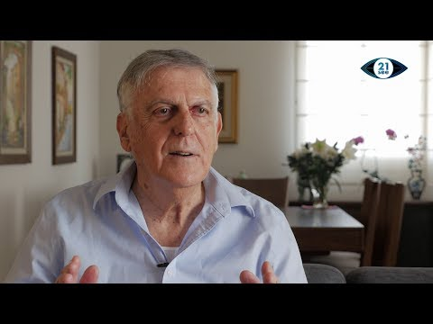 Israeli Nobel Prize Chemist Dan Shechtman Sits Down with 21see
