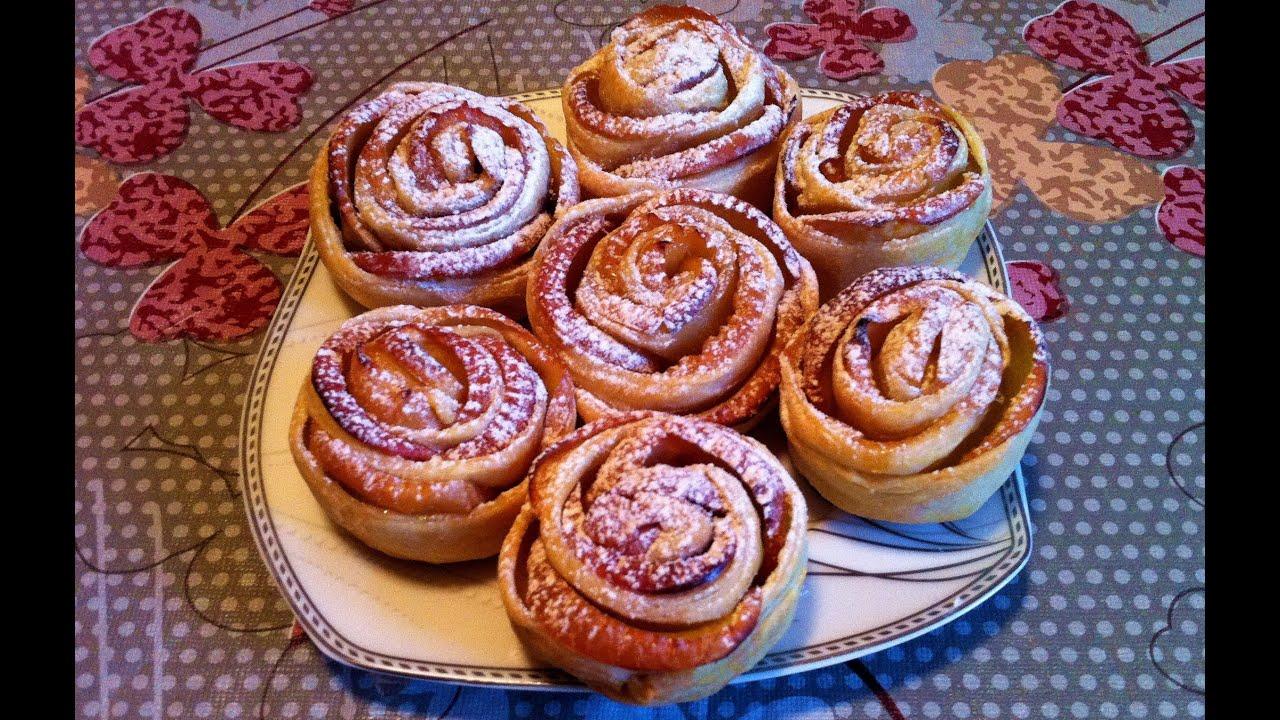 Печенье из слоеного теста рецепт очень вкусное