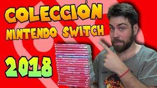 Mi Colección de Nintendo Switch en 2018 | Todos los juegos Fisicos y Digitales