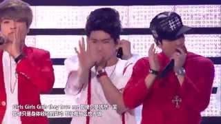 150523 GOT7 (갓세븐) - Intro + Girls Girls Girls (걸스 걸스 걸스) @ Dream Concert 2015