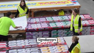 Large Signage Printing By Signs Banners Online