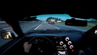 Toyota Supra 2JZ GTE | Trip to Russia | First person view | POV