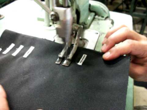Reece ButtonHole Industrial Sewing Machine YouTube Mesmerizing Sewing Machine Buttonhole Attachment